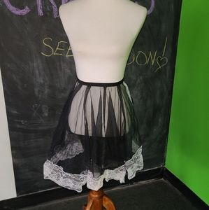 Vintage Betty Dain French Maid Lace Apron